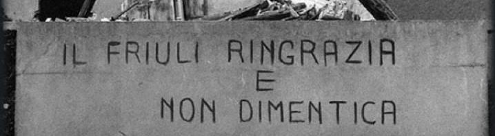 40° anniversario del Terremoto del Friuli